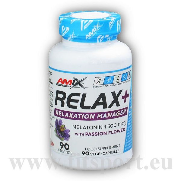Relax + relaxation manager 90 kapslí Relax + relaxation manager 90 kapslí