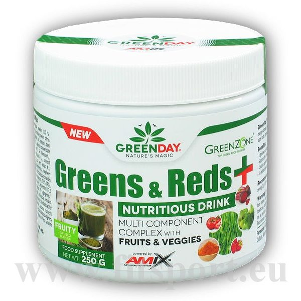 Greens and Reds+ 250g-fruity Greens and Reds+ 250g-fruity