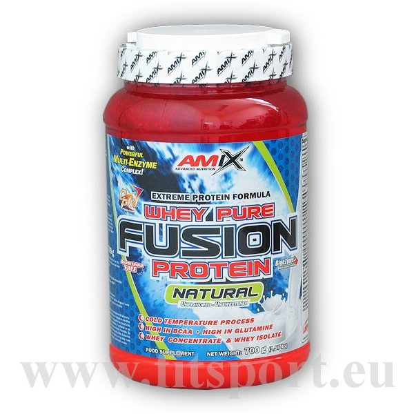 Whey Pure Fusion Protein 700g natural Whey Pure Fusion Protein 700g natural
