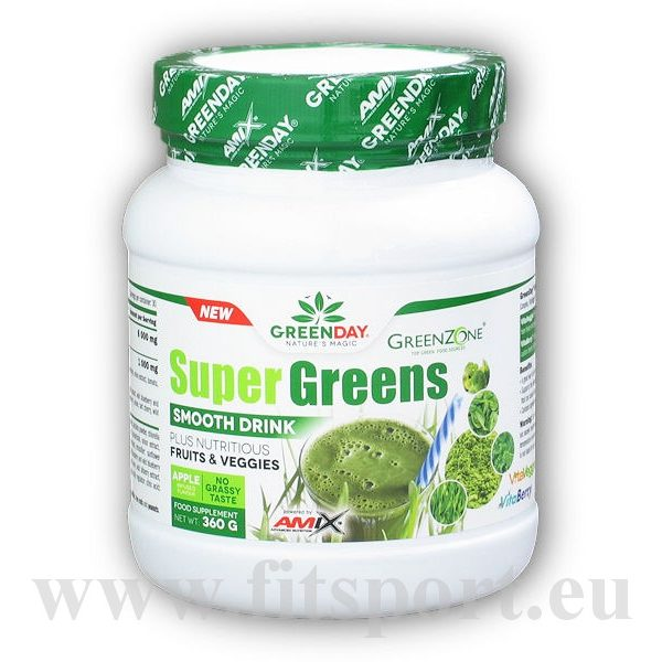 Super Greens Smooth Drink 360g-green-apple Super Greens Smooth Drink 360g-green-apple