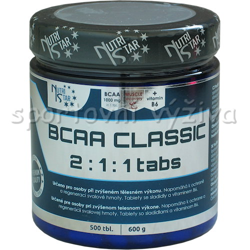 BCAA classic 2:1:1 500 tablet BCAA classic 2:1:1 500 tablet