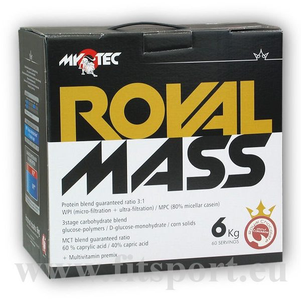 Royal Mass 6kg + CellZoom Hardcore Activator 7g akce Royal Mass 6kg + CellZoom Hardcore Activator 7g akce