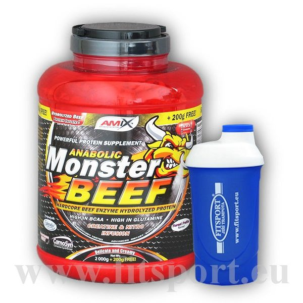 Anabolic Monster BEEF 90% Prot. 2200g + Anabolic Monster BEEF 90% Prot. 2200g +