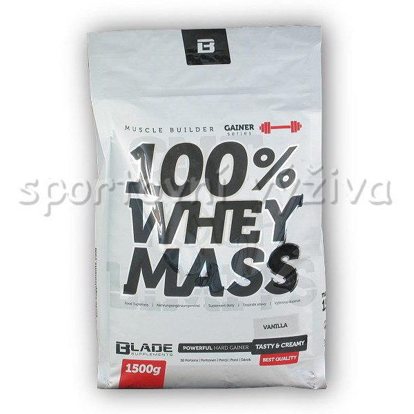 BS Blade 100% Whey Mass Gainer BS Blade 100% Whey Mass Gainer