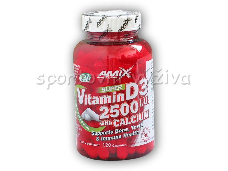 Super Vitamin D3 2500I.U. with Calcium 120cps Super Vitamin D3 2500I.U. with Calcium 120cps
