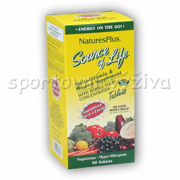 Source of Life Multi-Vitamin + Mineral 90 tb. Source of Life Multi-Vitamin + Mineral 90 tb.