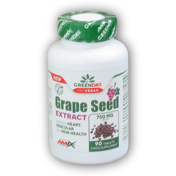 ProVEGAN Grape Seed Extract 90 tablet ProVEGAN Grape Seed Extract 90 tablet