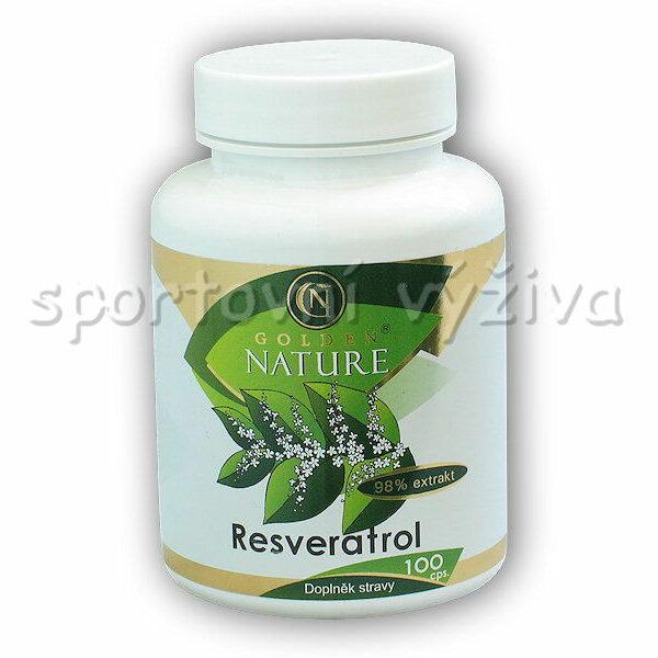 Resveratrol 98% extrakt 100 kapslí Resveratrol 98% extrakt 100 kapslí