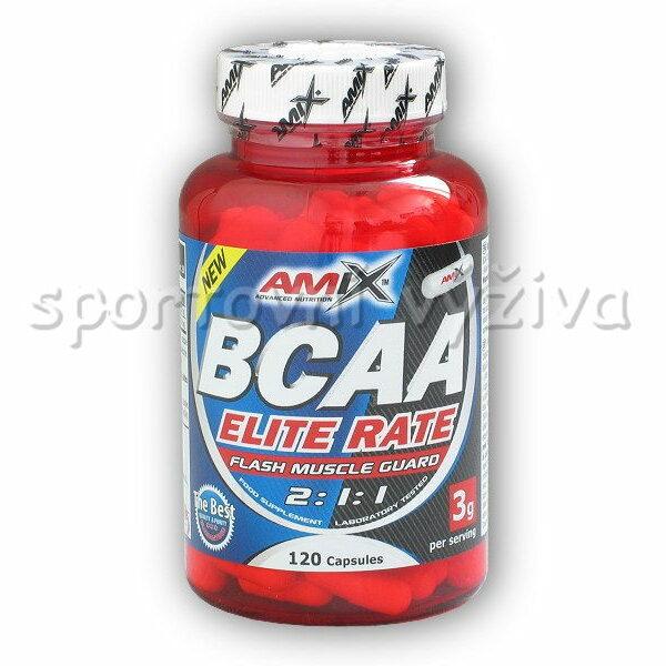 BCAA Elite Rate 120 kapslí akce BCAA Elite Rate 120 kapslí akce