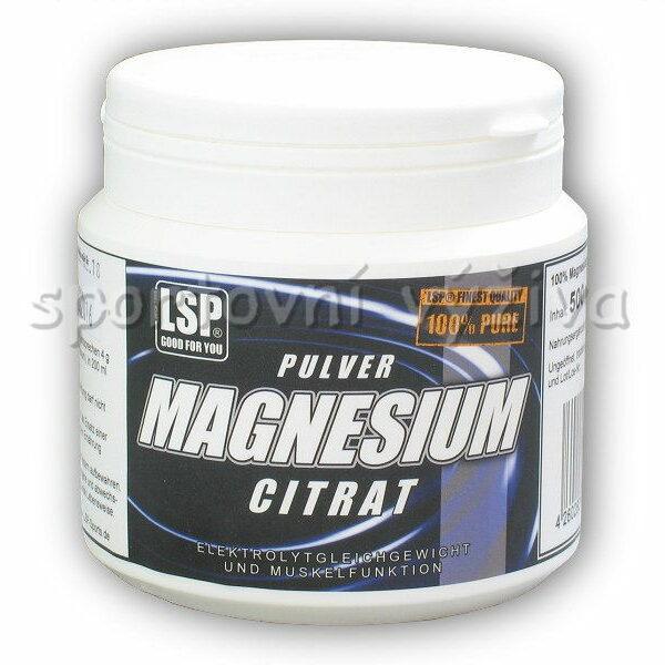 Magnesium citrate pulver 500g Magnesium citrate pulver 500g