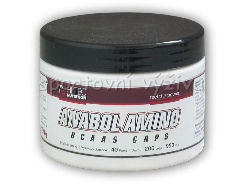 Anabol Amino BCAA s 200 kapslí Anabol Amino BCAA s 200 kapslí
