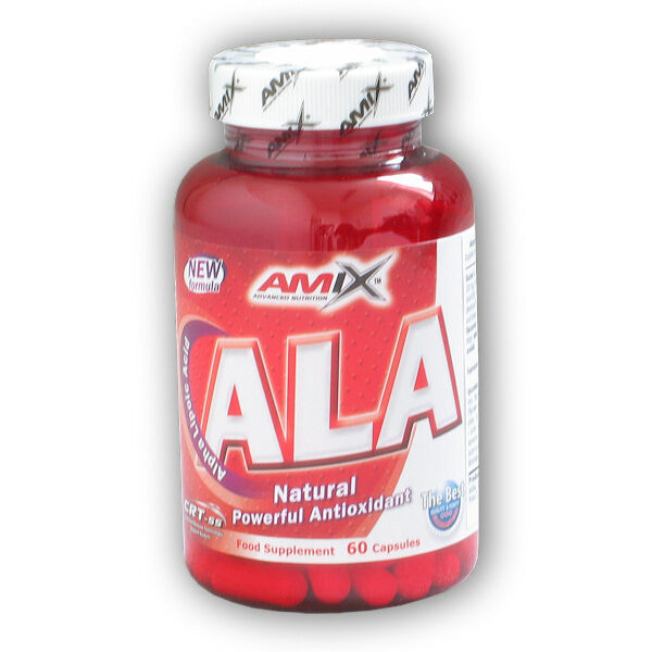 ALA kyselina Alfa Lipoová 60 kapslí ALA kyselina Alfa Lipoová 60 kapslí