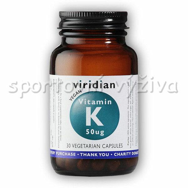 Vitamin K 50ug 30 kapslí Vitamin K 50ug 30 kapslí