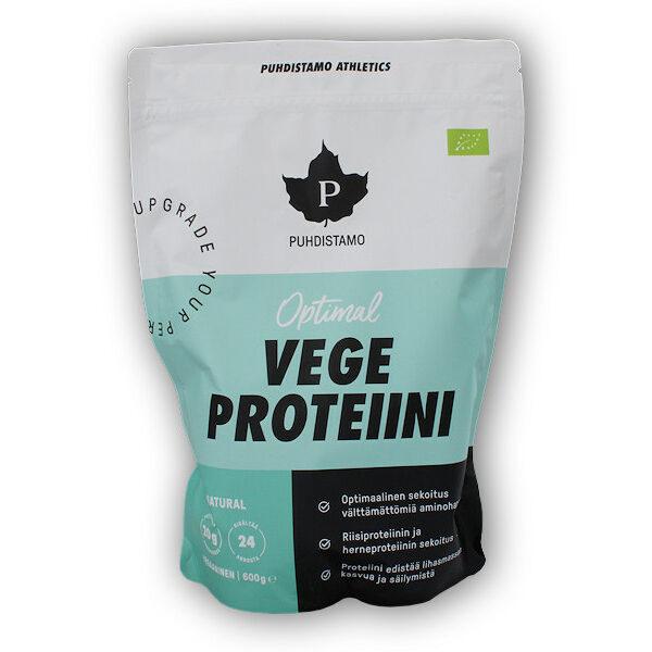 Optimal Vegan Protein BIO 600g natural Optimal Vegan Protein BIO 600g natural