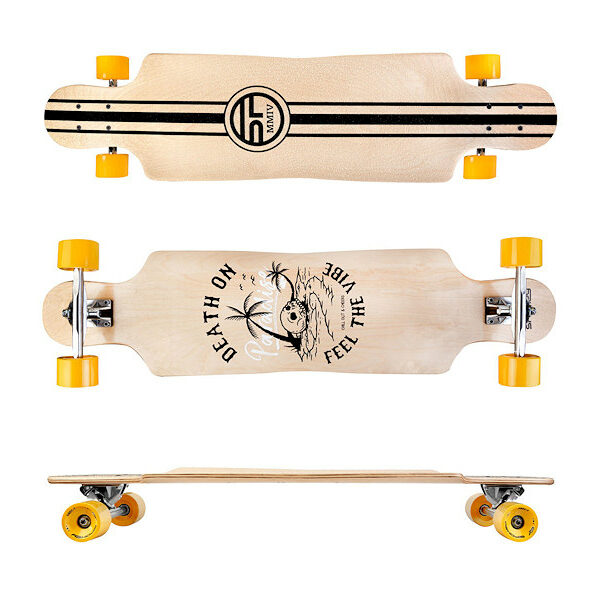 LONGBAY Longboard 94 x 23,5cm ABEC7 LONGBAY Longboard 94 x 23,5cm ABEC7