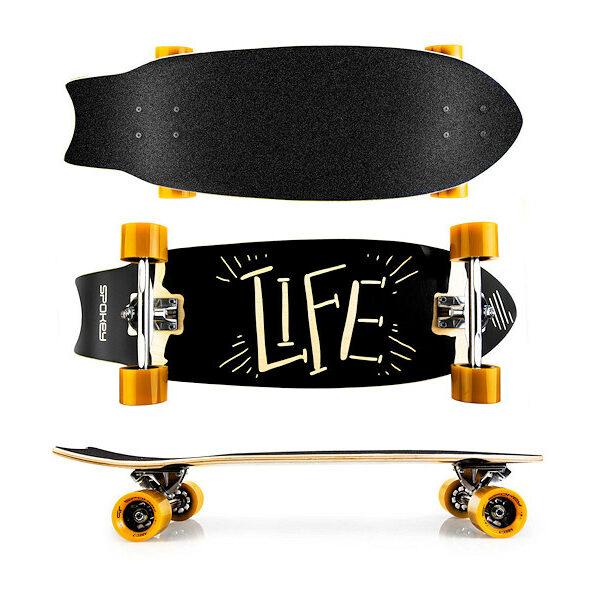 LIFE Longboard 67,5 x 25,5cm ABEC7 LIFE Longboard 67,5 x 25,5cm ABEC7