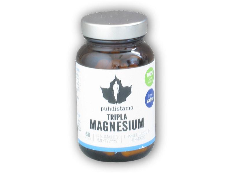 Tripla Magnesium (Hořčík) 60 kapslí Tripla Magnesium (Hořčík) 60 kapslí