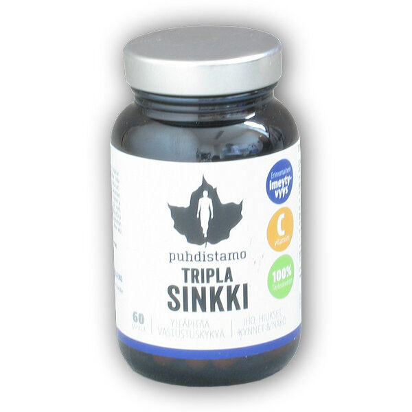 Tripla Sinkki (Zinek) 60 kapslí Tripla Sinkki (Zinek) 60 kapslí