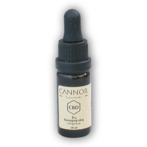 CBD konopný olej celospektrální 5% 10ml CBD konopný olej celospektrální 5% 10ml