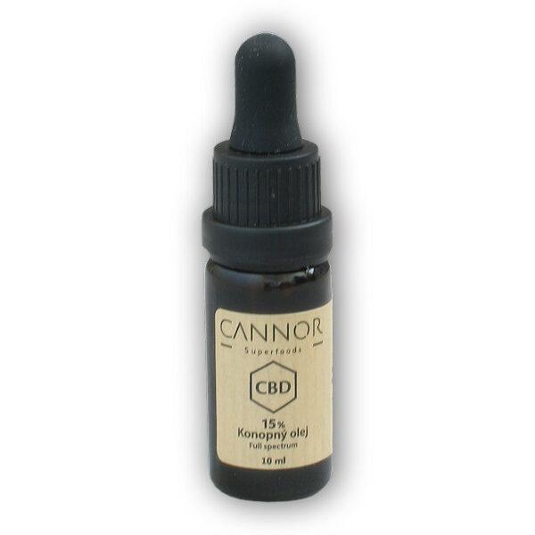 CBD konopný olej celospektrální 15% 10ml CBD konopný olej celospektrální 15% 10ml