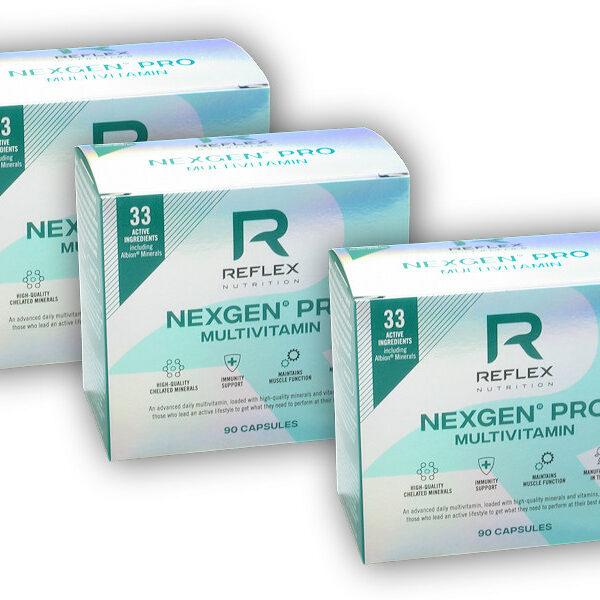 2x Nexgen Pro 90 kapslí + 1x ZDARMA 2x Nexgen Pro 90 kapslí + 1x ZDARMA