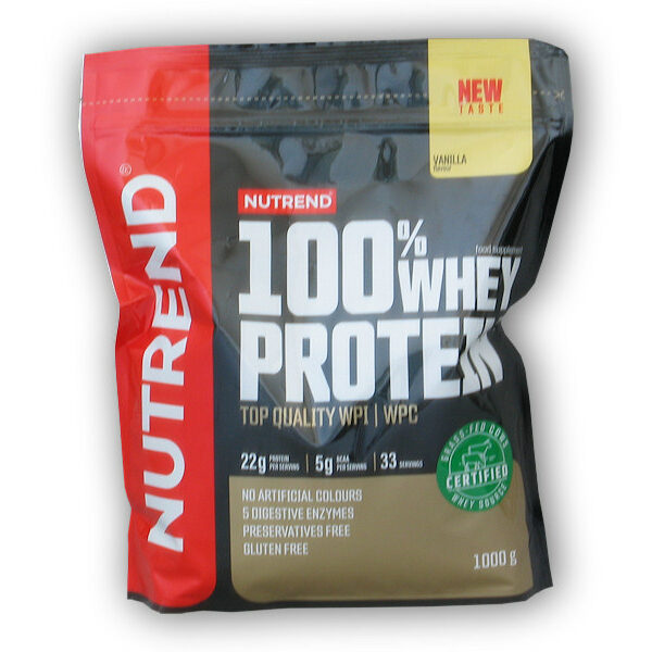 100% Whey Protein NEW 100% Whey Protein NEW