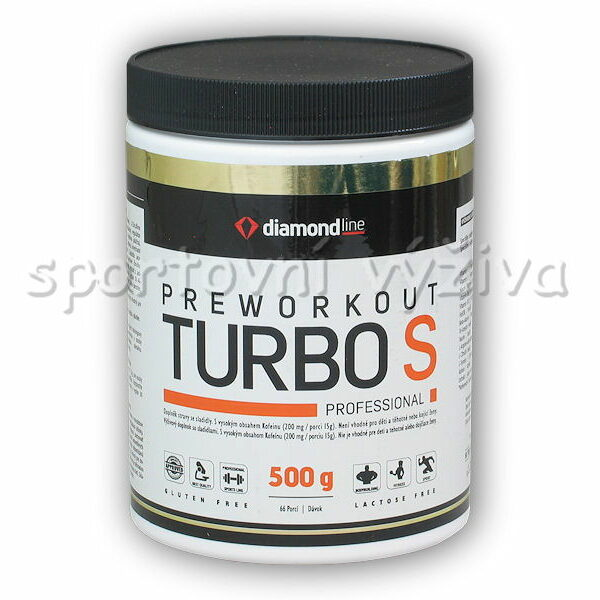 Diamond line Preworkout Turbo S 500g-pomeranc Diamond line Preworkout Turbo S 500g-pomeranc